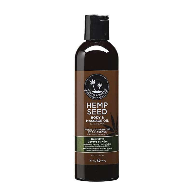 Earthly Body: Massage Oil Guavalava 8oz